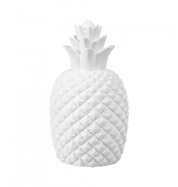 lampe porcelaine ananas sema
