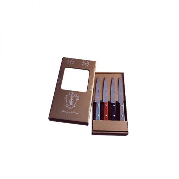 Coutellerie Jean Néron - Coffret 4 couteaux office 10cm
