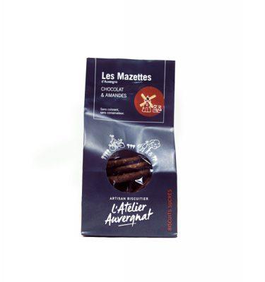 L'atelier auvergnat - les mazettes chocolat amandes