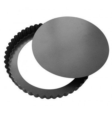 sabatier ustensile patisserie moule a tarte-cannele 32-cm a fond amovible