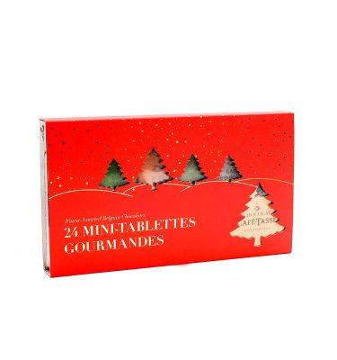 24 mini-tablettes gourmandes - Café Tasse