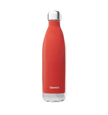 bouteille isotherme qwetch original rouge 750ml