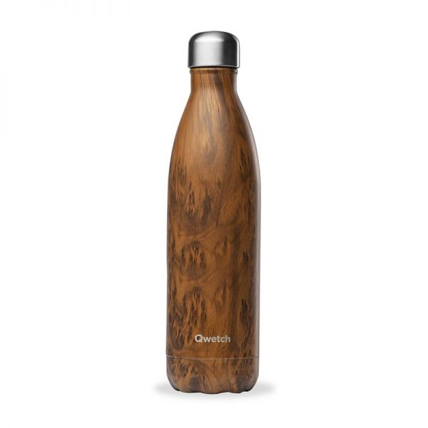 bouteille isotherme qwetch original wood 750ml