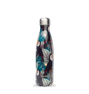 bouteille isotherme tropical toucan 500ml
