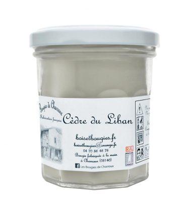 Bougie senteur Cèdre du Liban - Les Bougies de Charroux
