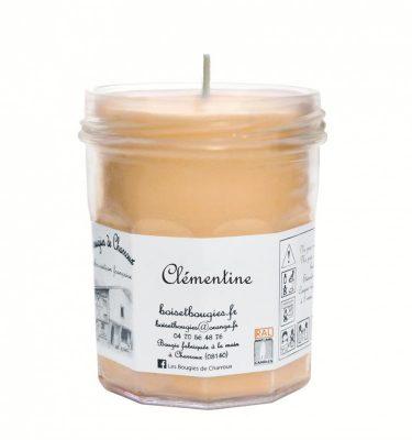 Bougie senteur Clémentine - Les Bougies de Charroux