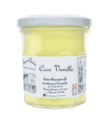 Bougie senteur Coco Vanille - Les Bougies de Charroux