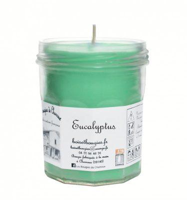 Bougie senteur Eucalyptus - Les Bougies de Charroux