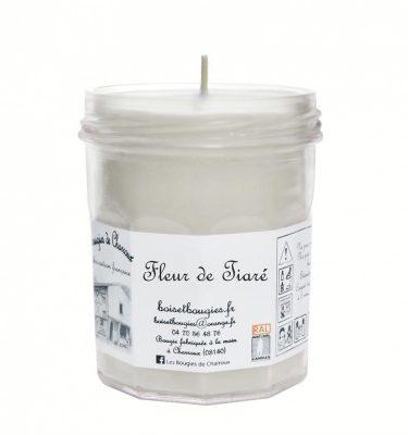 Bougie senteur Fleur de Tiaré - Les Bougies de Charroux
