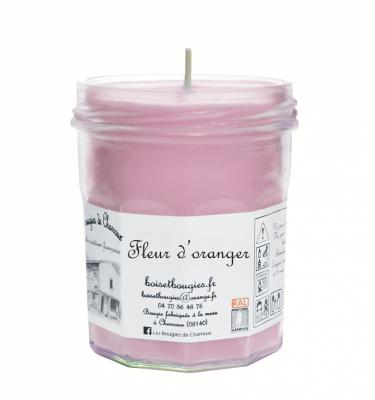 Bougie senteur Fleur d'Oranger - Les Bougies de Charroux