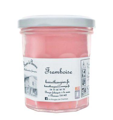 Bougie senteur Framboise - Les Bougies de Charroux
