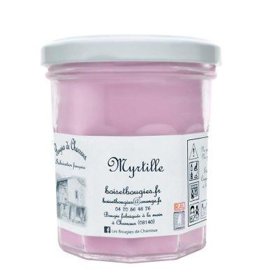 Bougie senteur Myrtille - Les Bougies de Charroux