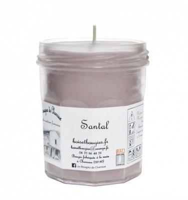 Bougie senteur Santal - Les Bougies de Charroux