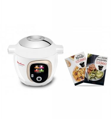 Multicuiseur intelligent Cookeo+ Blanc silver - Moulinex