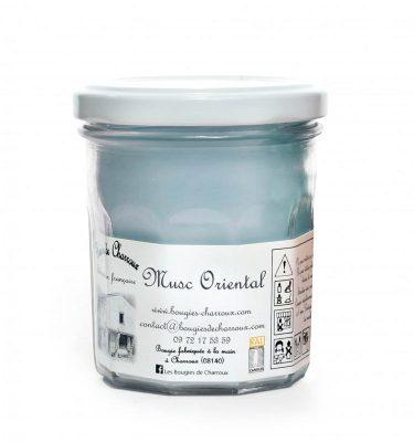 Bougie senteur Musc oriental - Les Bougies de Charroux