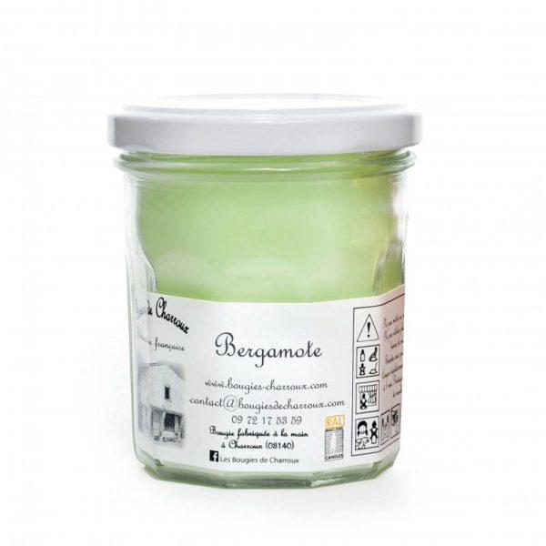 Bougie senteur Bergamotte - Les Bougies de Charroux