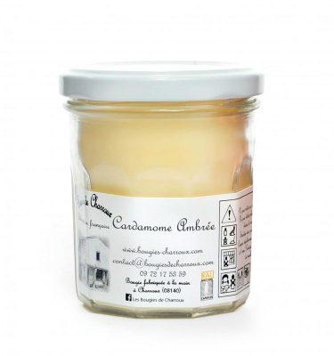 Bougie senteur Cardamone ambrée - Les Bougies de Charroux