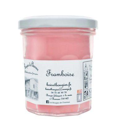 Bougie senteur Fraise - Les Bougies de Charroux