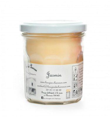 Bougie senteur Jasmin - Les Bougies de Charroux