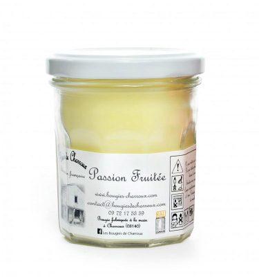 Bougie senteur Passion fruitée - Les Bougies de Charroux