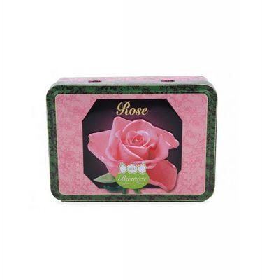 bonbons givrés rose boite fer 150 g Barnier